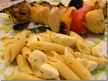 JBW pasta and chicken