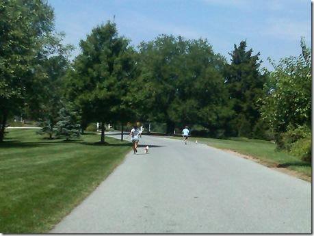 nat and jake running