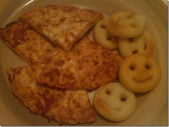 smiley french fries